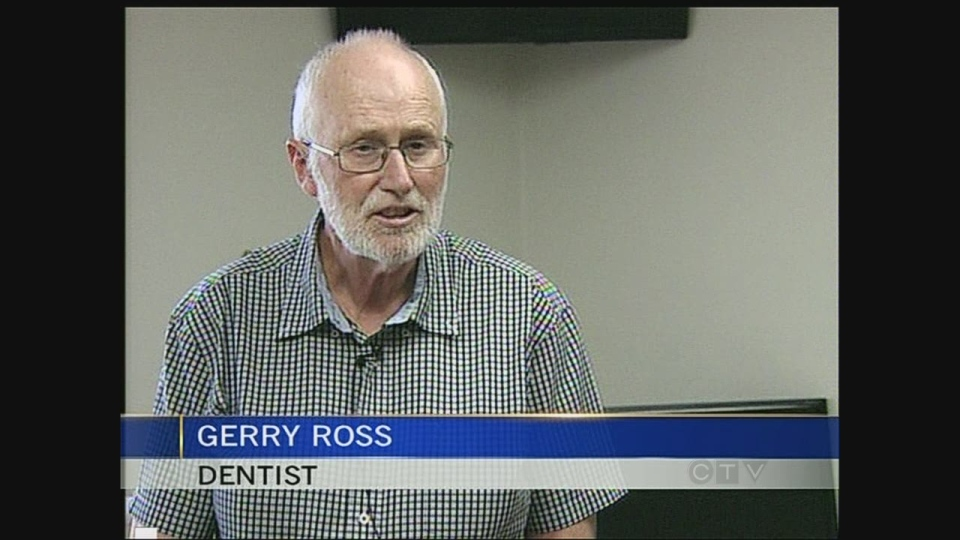 Dentist Gerry Ross has been practicing for more than 40 years and was instrumental in getting fluoride added to the drinking water here in 1973.
