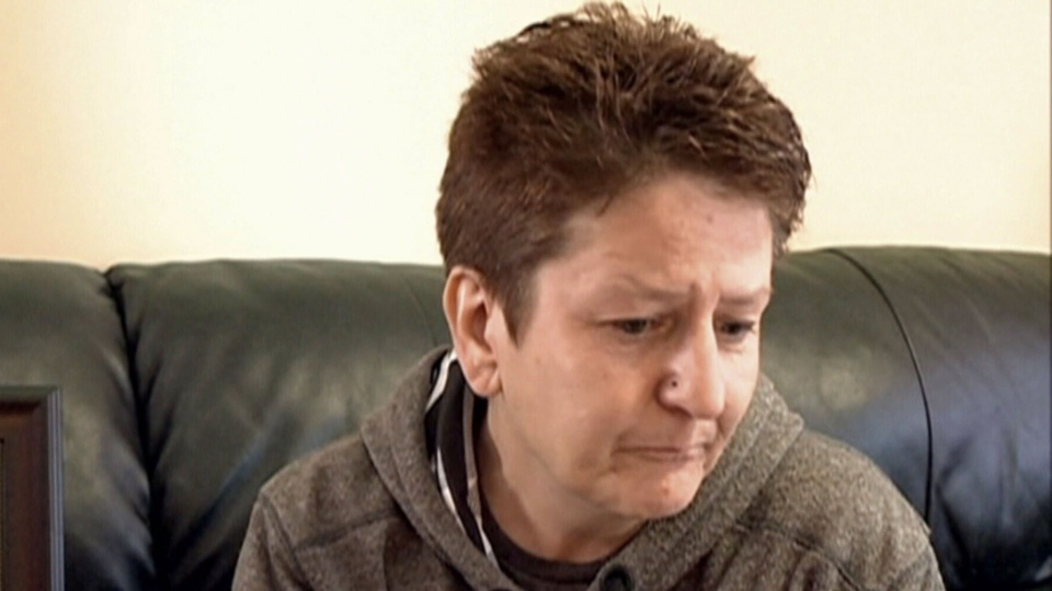 Kim Loik says found her son dead in their home in North Battleford, Sask. the morning after a taunt from a bully.