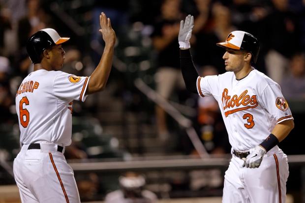 Orioles' Jonathan Schoop, Ryan Flaherty