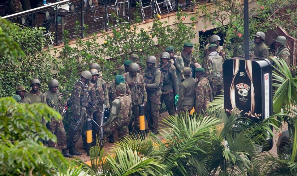 Kenya soldiers Westgate defence