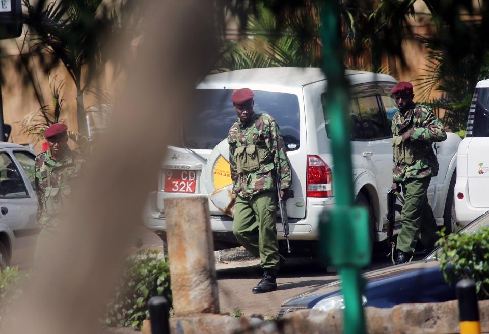 Kenya security invesgitation Westgate mall