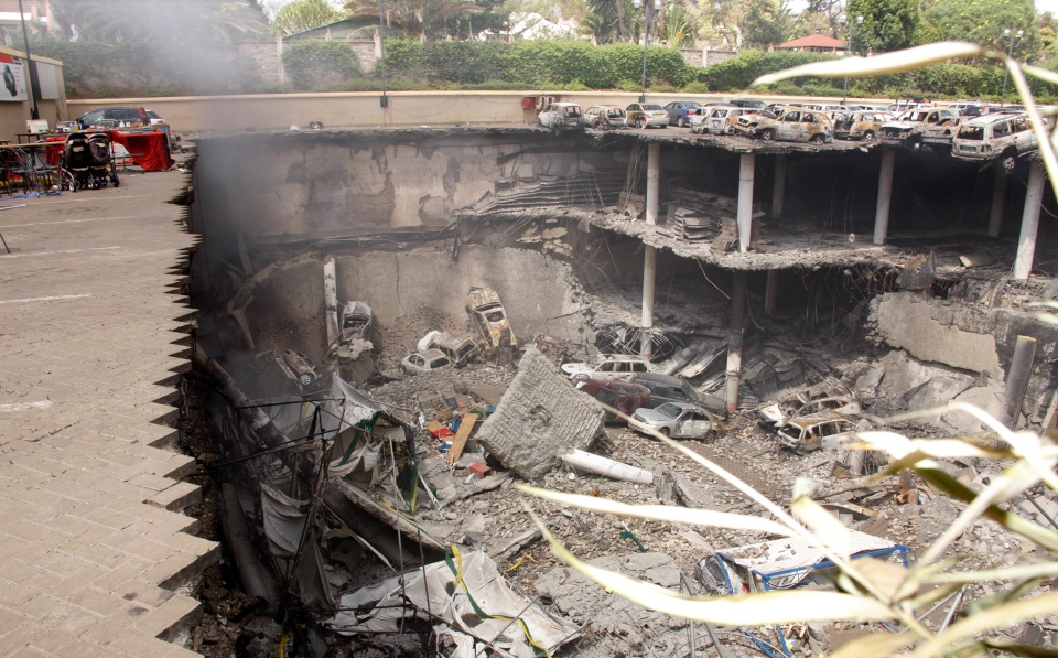 Kenya Westgate Mall  aftermath