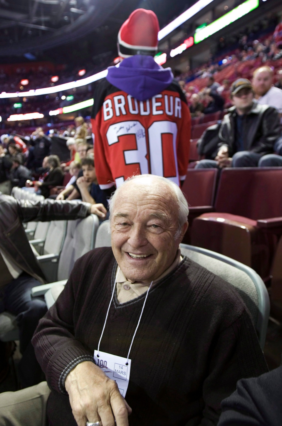 Sports Photographer Denis Brodeur Father Of Star Goalie Dies At 82