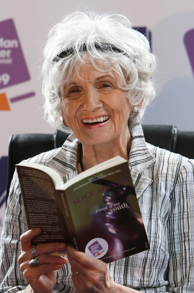 Canadian Author Alice Munro Harbourfront Festival