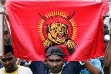 Tamil Tigers flag generic