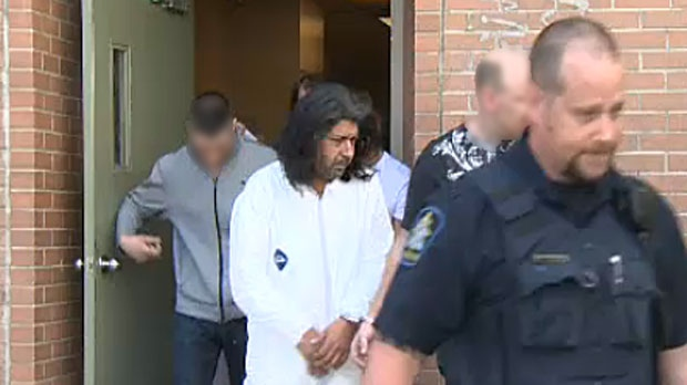 Andreas Pirelli, aka Mario Antonacci, is moved to the Remand Centre from arrest processing on Friday, Sept 27, 2013.