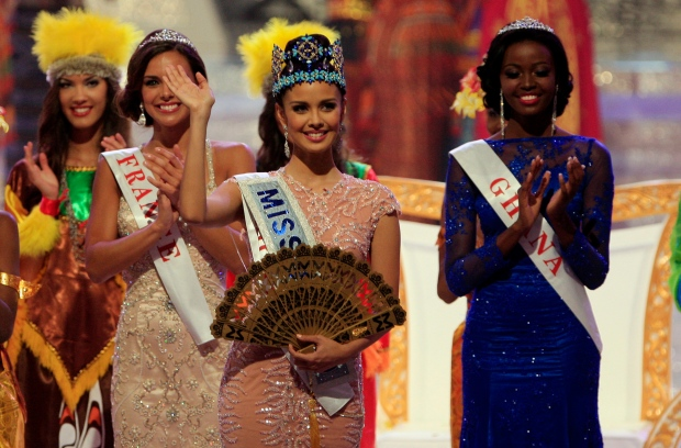 Miss World Megan Young of Philippine
