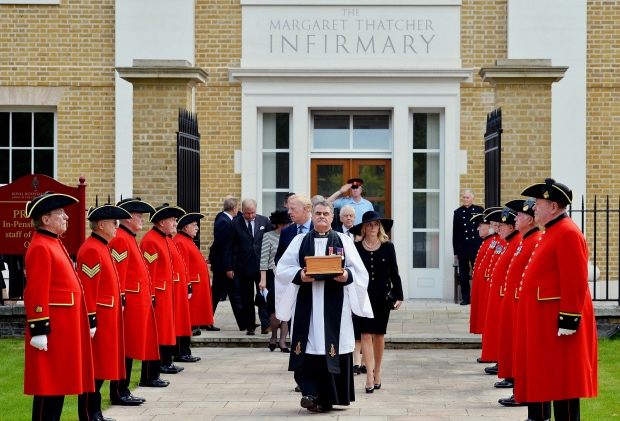 Margaret Thatcher's ashes laid to rest