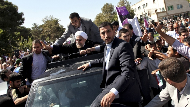 Iranians react to historic Rouhani-Obama talk
