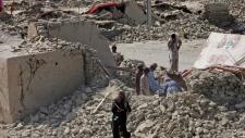 Major aftershock strikes Pakistan