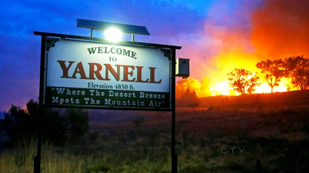 A three-month investigation into the June deaths of 19 firefighters killed while battling an Arizona blaze cites poor communication between the men and support staff.