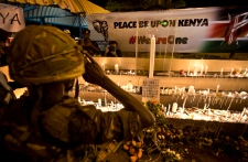Candelight vigil in Kenya