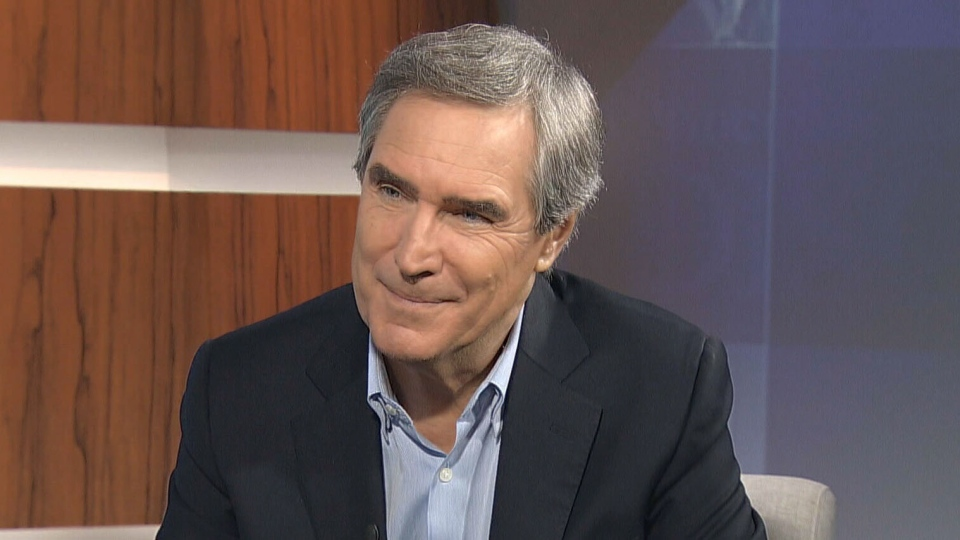 Former Liberal leader Michael Ignatieff appears on CTV's Question Period in Ottawa on Sunday, Sept. 29, 2013.