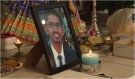 Local Hindu temple held a candlelight vigil to remember shooting victim Rajan Solanki.  He was among 67 people killed in the Kenya Mall attack. Photo taken by CTV Kitchener/Nadia Matos on September 29, 2013