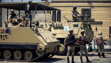 Canadians stuck in Egyptian jail