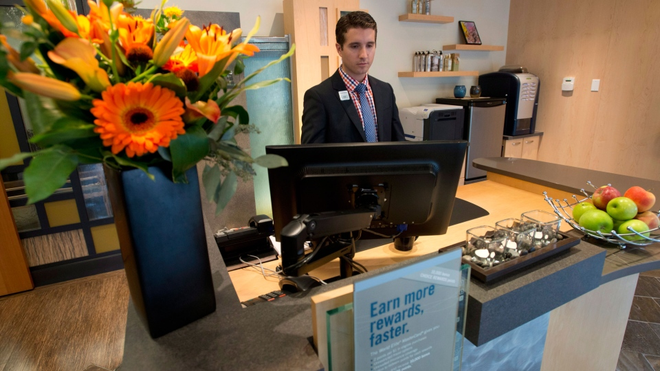 "The inside of a North Shore Financial ""Financial Spa"" is seen in North Vancouver, B.C. Friday, Sept, 27, 2013. (Jonathan Hayward / THE CANADIAN PRESS)"