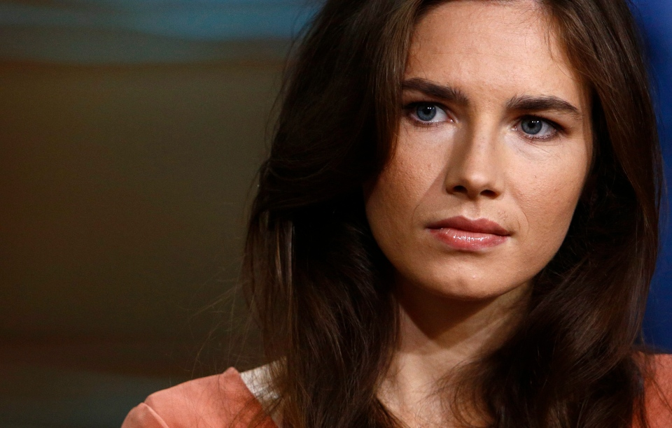 "This image released by NBC shows Amanda Knox during an interview on the ""Today"" show in New York, Friday, Sept. 20, 2013. (NBC/Peter Kramer)"