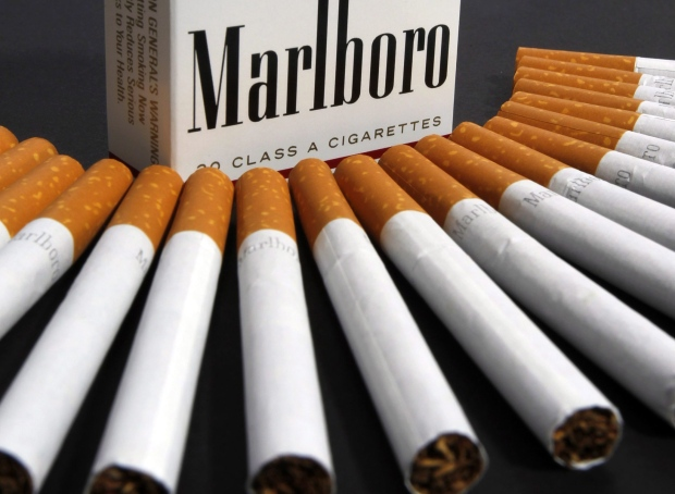 Tell old pack cigarettes Marlboro