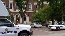 The University Of Alberta dentistry-pharmacy building had to be evacuated Tuesday afternoon after a potentially dangerous chemical was located on campus.