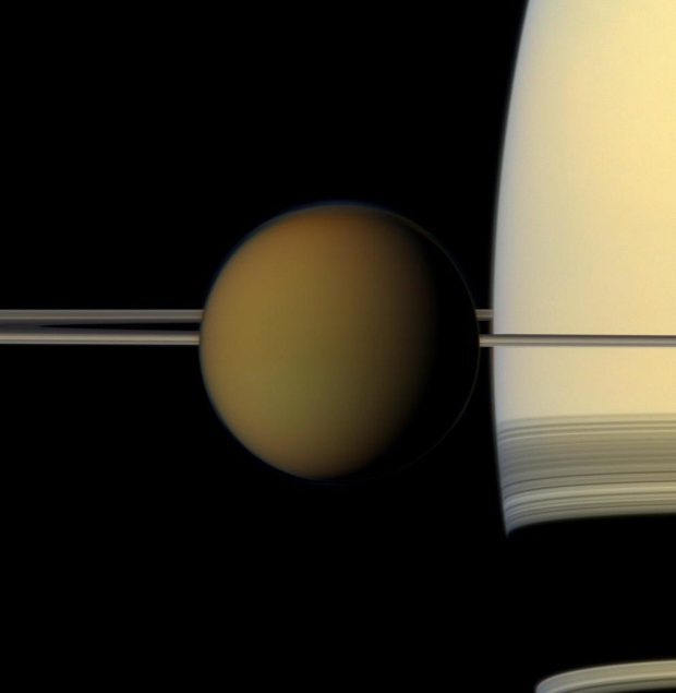 Plastic found on one of Saturn's moons