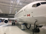A plane sits in the massive hangar at Windsor Airport in Windsor, Ont., on Monday, Sept. 30, 2013. (Rich Garton / CTV Windsor)