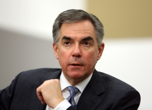 Former Conservative federal cabinet minister Jim Prentice is shown at the Canadian American Business Council during an interview in Ottawa on Monday, Nov. 19, 2012. (Fred Chartrand / THE CANADIAN PRESS)