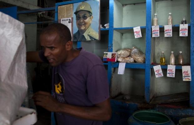 Food store in Havana, Cuba