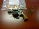 The London Police Service has released this image of a revolver seized from a Boullee Street residence on Monday, Sept. 30, 2013.