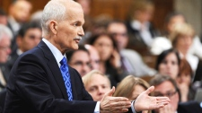 New Democratic Party leader Jack Layton asks a question during Question Period in the House of Commons on Parliament Hill in Ottawa on Tuesday, June 14, 2011. (Sean Kilpatrick / THE CANADIAN PRESS)