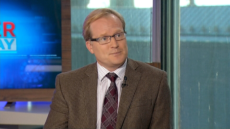 Veterans advocate Sean Bruyea appears on CTV's Power Play from Ottawa, Tuesday, Oct. 1, 2013.