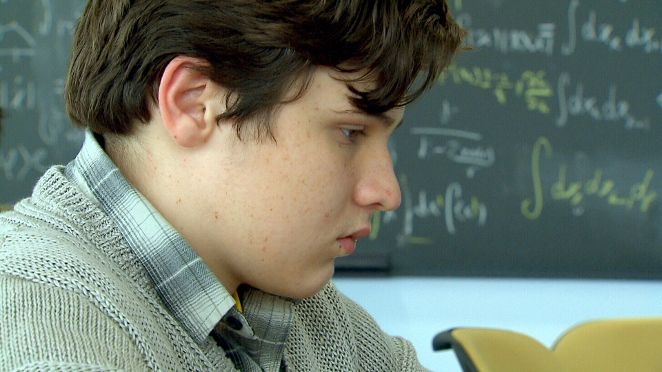15-year-old Jacob Barnett is a young student who is becoming a 'celebrity' in the world of physics.
