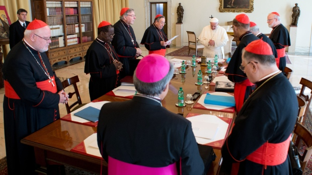 Pope Francis convenes cardinals to talk reform