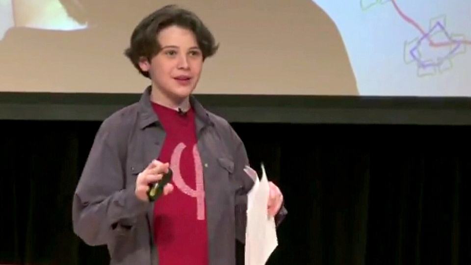 In an inspiring TEDx talk, Jacob Barnett urges others to 'stop learning and start thinking.' The video has close to two millions views on YouTube.