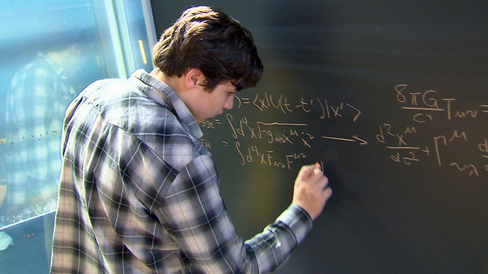 15-year-old Jacob Barnett is the youngest researcher to ever be accepted to Waterloo, Ont.'s Perimeter Institute for Theoretical Physics.