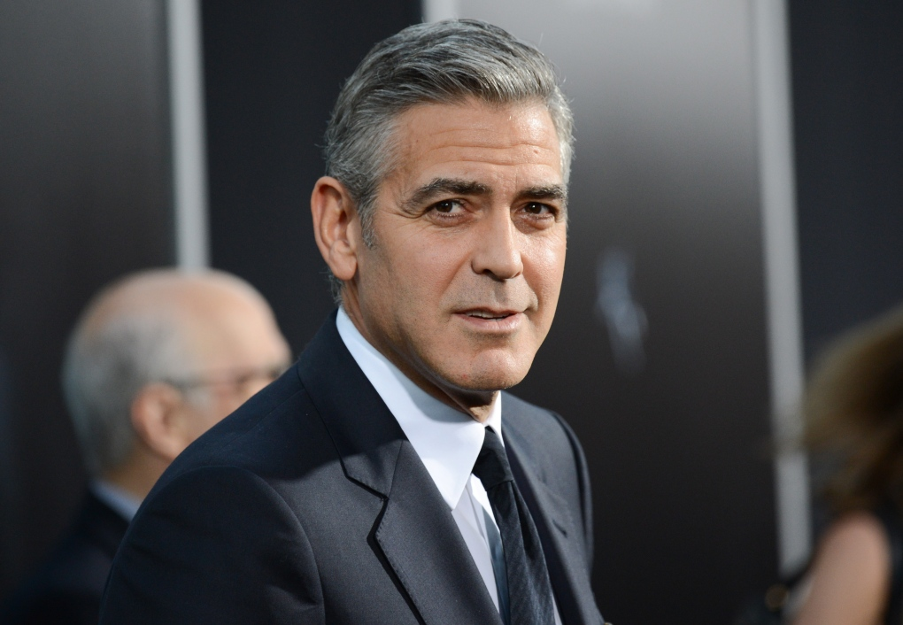 George Clooney new movie Monuments Men