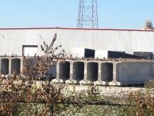 Parkway girders on storage lot