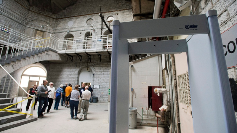 Kingston Penitentiary opens to the public