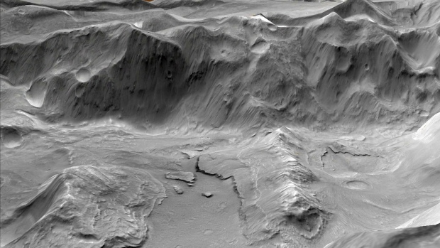 Evidence of ancient supervolcanoes on Mars