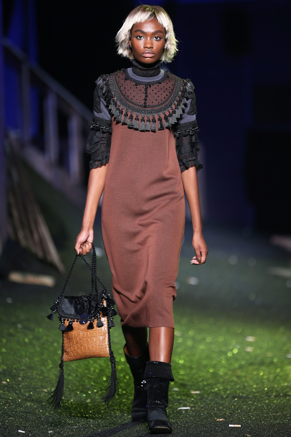 The Marc Jacobs Spring 2014 collection is modeled during Fashion Week in New York, Thursday, Sept. 12, 2013. (AP / John Minchillo)