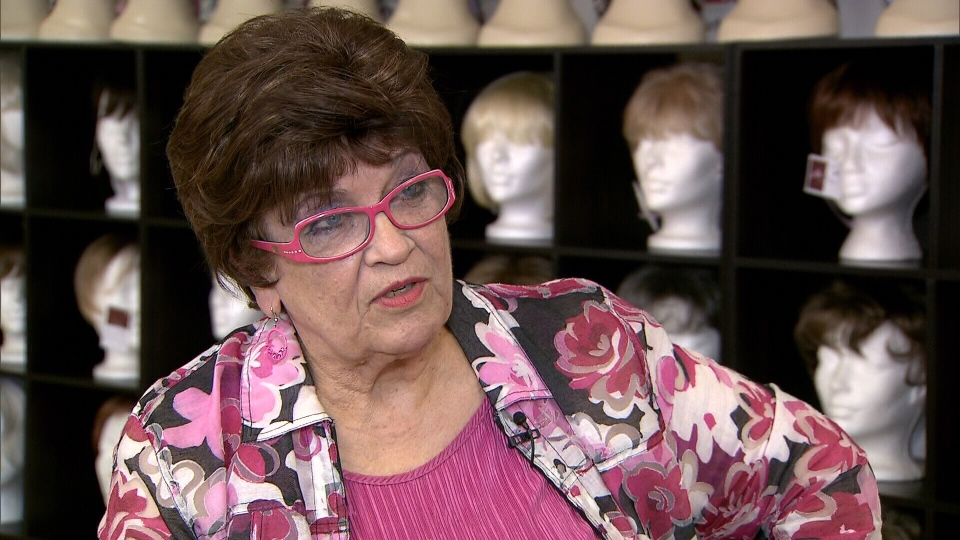 """Rose Adams, better known as """"Miss Rose,"""" had her wig store robbed by heartless thieves on Sept. 18, 2013. (CTV)"""