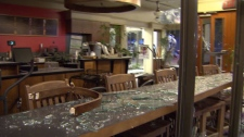 Some of the most lasting damage of the 2011 Stanley Cup riot was done to the bottom line of businesses caught in the crossfire. June 16, 2011. (CTV)