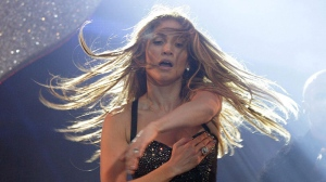 Singer Jennifer Lopez performs on stage during the Summertime Ball at Wembley Stadium in London, Sunday June 12, 2011. (AP / Yui Mok, PA)