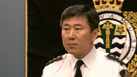 Vancouver police Chief Constable Jim Chu address the media at a press briefing after the riot following Vancouver Canucks Stanley Cup Game 7 loss.  Thursday, June 16, 2011.  (CTV)