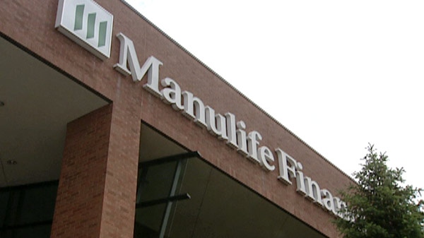 The Manulife Financial offices are seen on Water Street in Kitchener, Ont. on Friday, June 17, 2011.