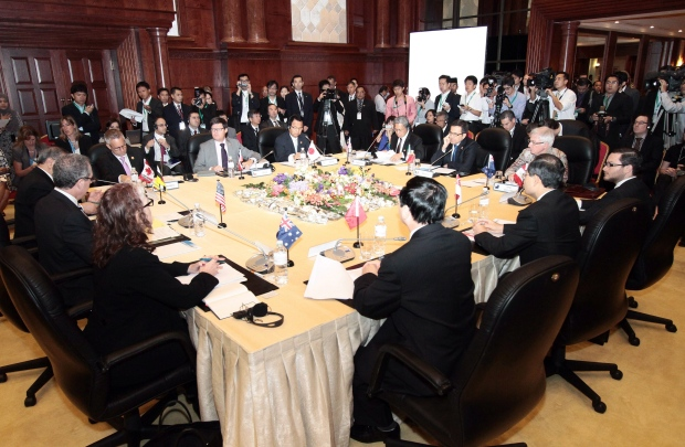 Trans-Pacific Partnership talks, Brunei Aug. 2013