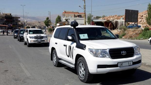 UN says destruction Syria weapons starts