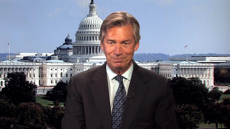 Canada's Ambassador to the United States, Gary Doer appears on CTV's Question Period, Sunday, Oct. 6, 2013.