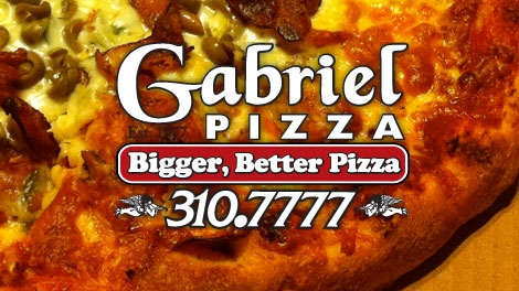 Gabriel Pizza was voted by our viewers as Ottawa's Best Pizza, Friday, June 17, 2011.