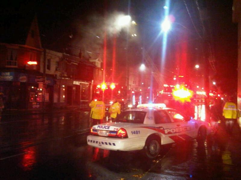 Bathurst Street fire