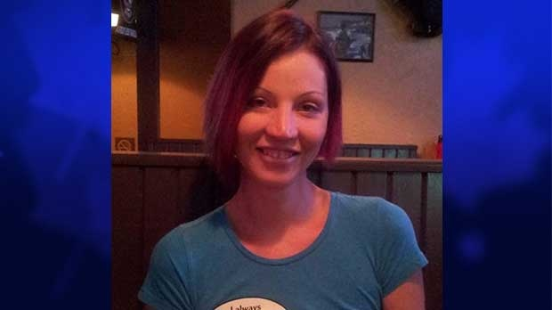 Hayley Cline, 28, is seen in this photo provided by the London Police Service.